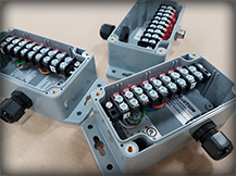 custom breakout box assemblies by The Data Cable Co. In.